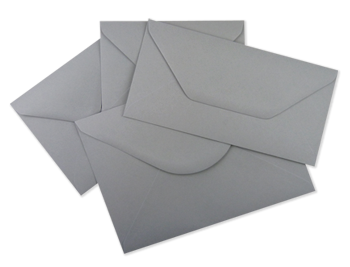 Wagtail Grey Envelopes