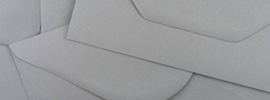 New range of grey envelopes