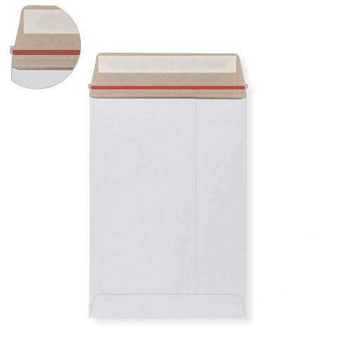 C5 WHITE ALL-BOARD ENVELOPES 350GSM
