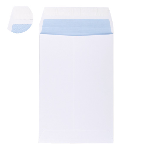C5 WHITE SELF SEAL POCKET WINDOW ENVELOPES 90GSM