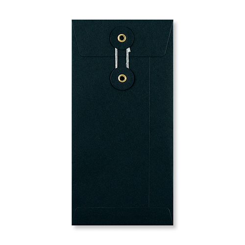 DL Black String & Washer Envelopes