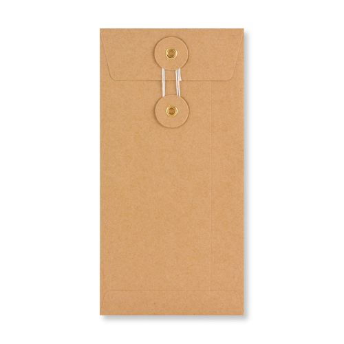DL MANILLA 180GSM STRING & WASHER ENVELOPES