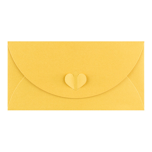 DL GOLDEN YELLOW BUTTERFLY ENVELOPES