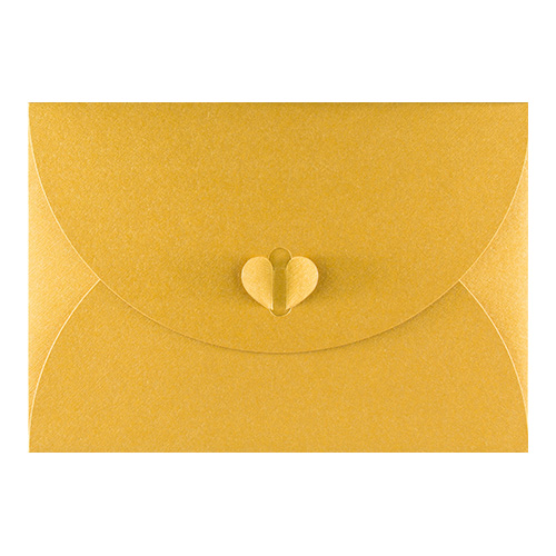 C5 GOLD BUTTERFLY ENVELOPES