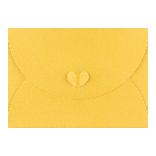 C7 GOLDEN YELLOW BUTTERFLY ENVELOPES