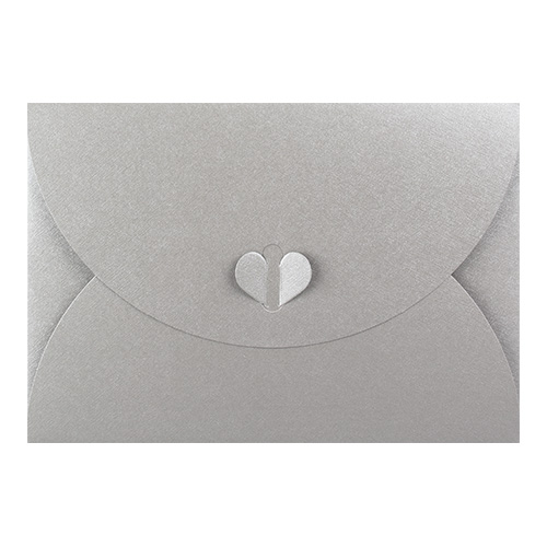C6 SILVER BUTTERFLY ENVELOPES