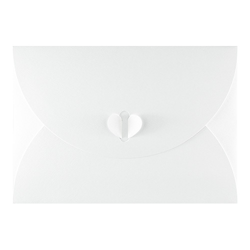C7 WHITE BUTTERFLY ENVELOPES