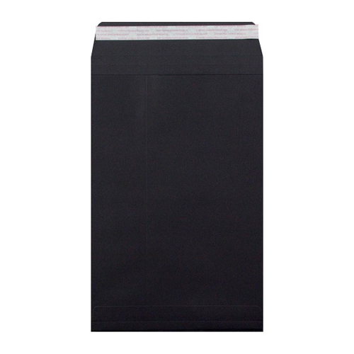 C4 BLACK GUSSET PEEL & SEAL ENVELOPES