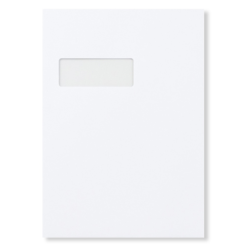 C4 White 120gsm Pocket Window Peel & Seal Envelopes