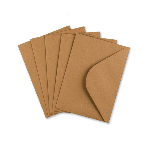 C5 Printed Kraft Wedding Envelopes