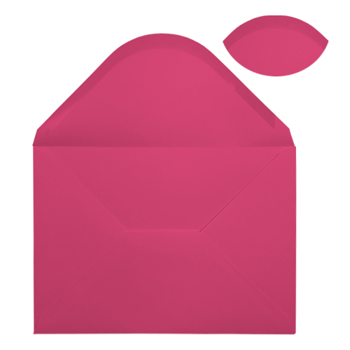 C5 FUCHSIA PINK ENVELOPES