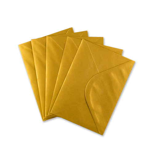 C5 Metallic Gold Envelopes