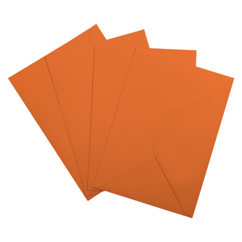 C5 ORANGE ENVELOPES