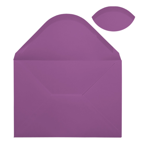 C5 PURPLE ENVELOPES