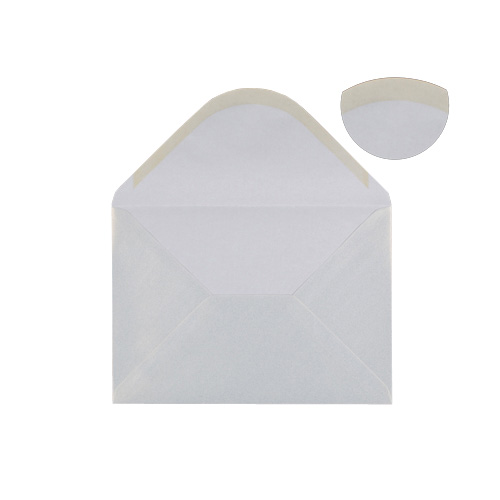 C5 PEARL SNOW WHITE ENVELOPES