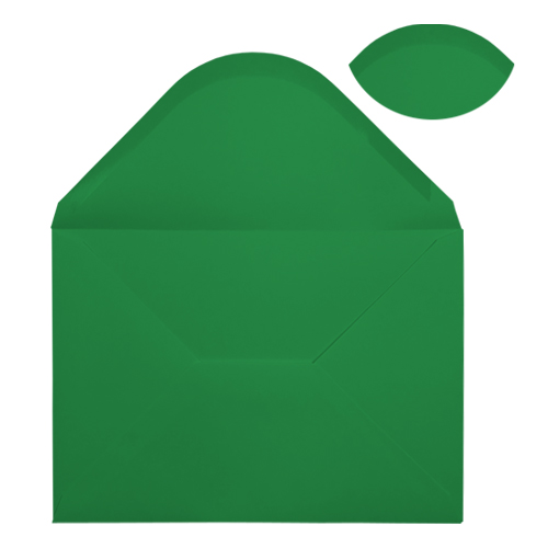 C5 XMAS GREEN ENVELOPES