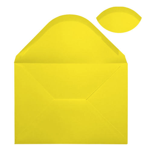 C5 DAFFODIL YELLOW ENVELOPES