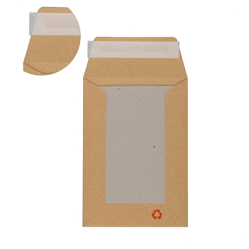 C6 MANILLA BOARD BACKED ENVELOPES (115/550gsm)