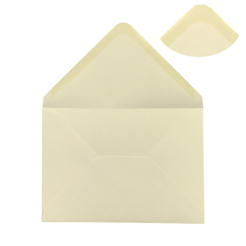 CREAM 125 x 175 mm ENVELOPES (i6)