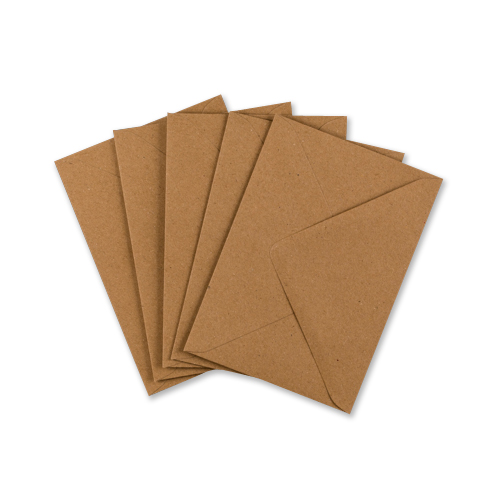 C6 RECYCLED FLECK KRAFT ENVELOPES