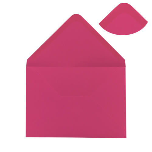 C6 FUCHSIA PINK ENVELOPES