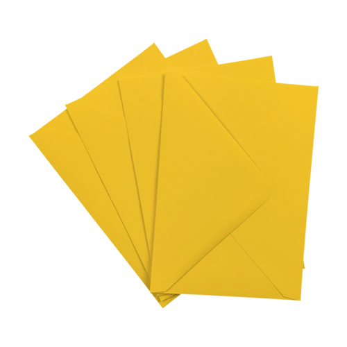 C6 GOLDEN YELLOW ENVELOPES