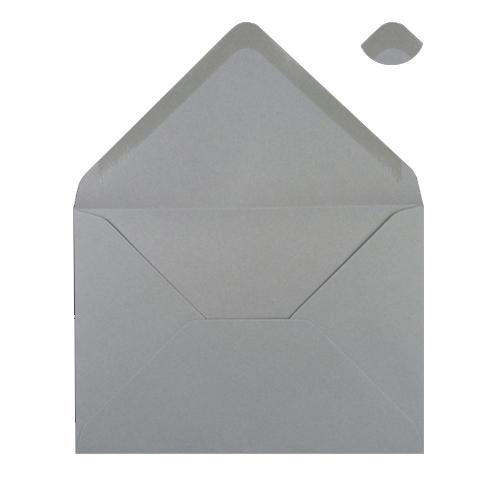 Grey C6 120gsm Envelopes