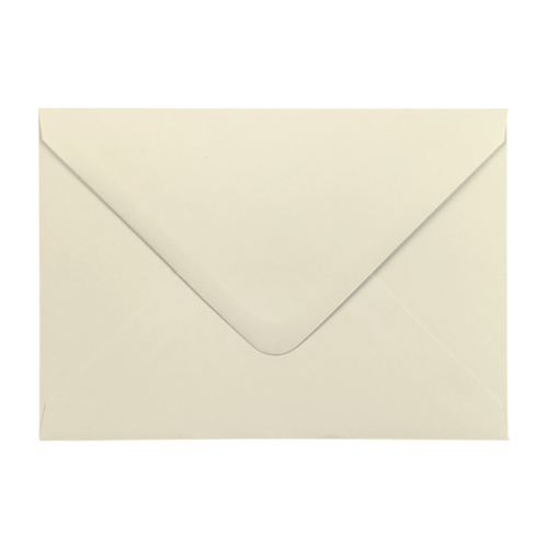 IVORY 133 x 184 mm ENVELOPES 120gsm (i8)