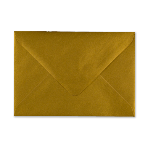 METALLIC GOLD 152 x 216 mm ENVELOPES (i9)