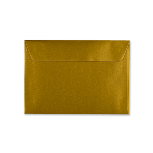 C6 METALLIC GOLD PEEL AND SEAL ENVELOPES