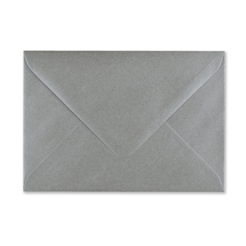 C6 METALLIC SILVER ENVELOPES