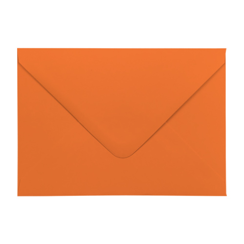 ORANGE 133 x 184 mm ENVELOPES (i8)