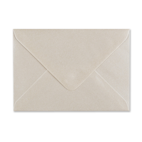 PEARLESCENT OYSTER WHITE 70 x 100mm ENVELOPES (i2)