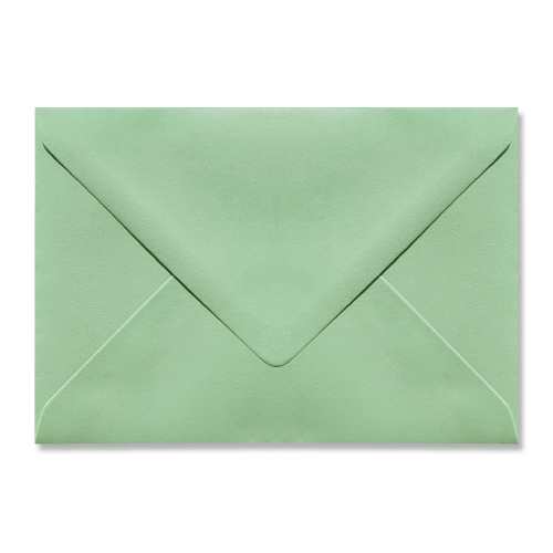 C6 Green Envelopes