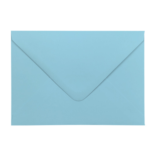 PASTEL BLUE 70 x 100 mm GIFT TAG ENVELOPE (i2)