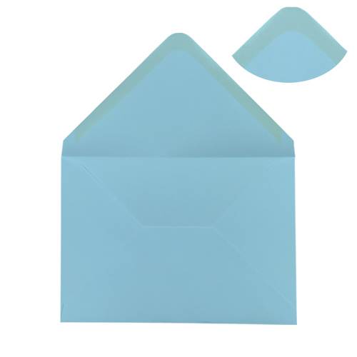 PASTEL BLUE 152 x 216 mm ENVELOPES (i9)