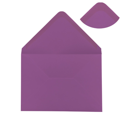 PURPLE 125 x 175 mm ENVELOPES (i6)