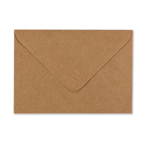 C6 RIBBED KRAFT ENVELOPES