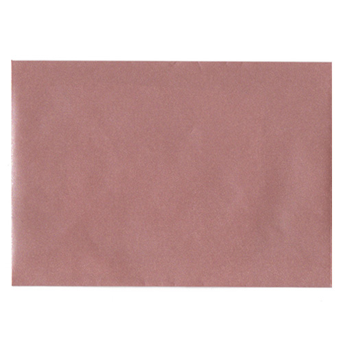 C6 PEARLESCENT ROSE GOLD ENVELOPES
