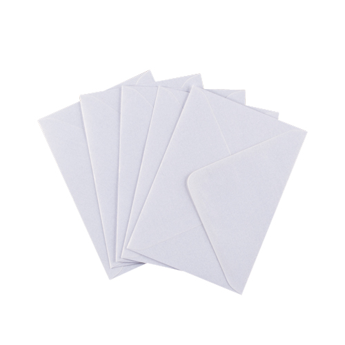 C6 PEARL SNOW WHITE ENVELOPES