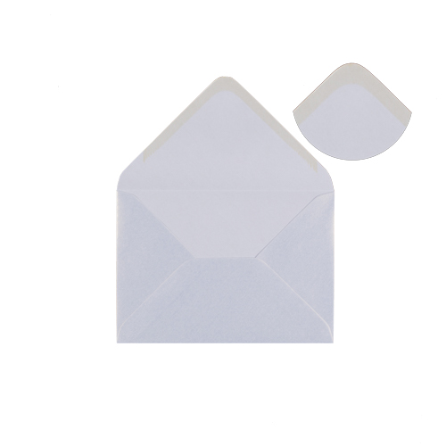 PEARLESCENT SNOW WHITE 133 x 184mm ENVELOPES (i8)