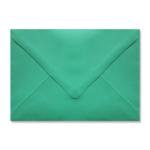 C6 SPEARMINT GREEN ENVELOPES