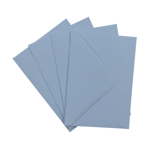 C6 WEDGWOOD BLUE ENVELOPES