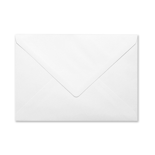 C5 WHITE PRINTED MOURNING ENVELOPES (PACK OF 10)