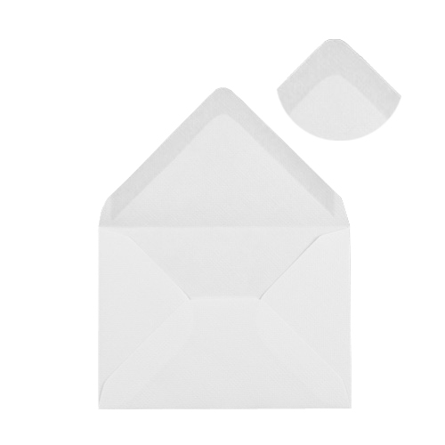 WHITE 95 x 122 mm INVITATION ENVELOPES (i5) 120GSM