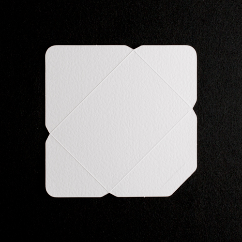 C6 DIE CUT WHITE HAMMER EFFECT ENVELOPES