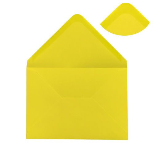 DAFFODIL YELLOW 70 x 100 mm GIFT TAG ENVELOPE (i2)