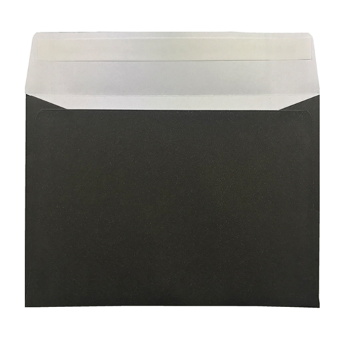 BLACK 70 x 100mm PEEL & SEAL ENVELOPES (i2)