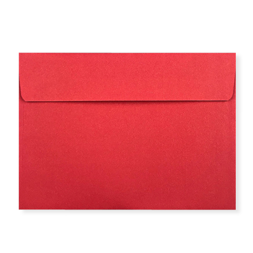 C7 Red Peel and Seal Envelopes