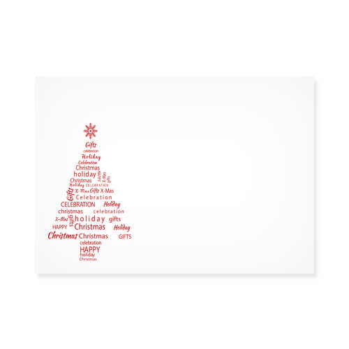 WORD TREE PRINTED ENVELOPES